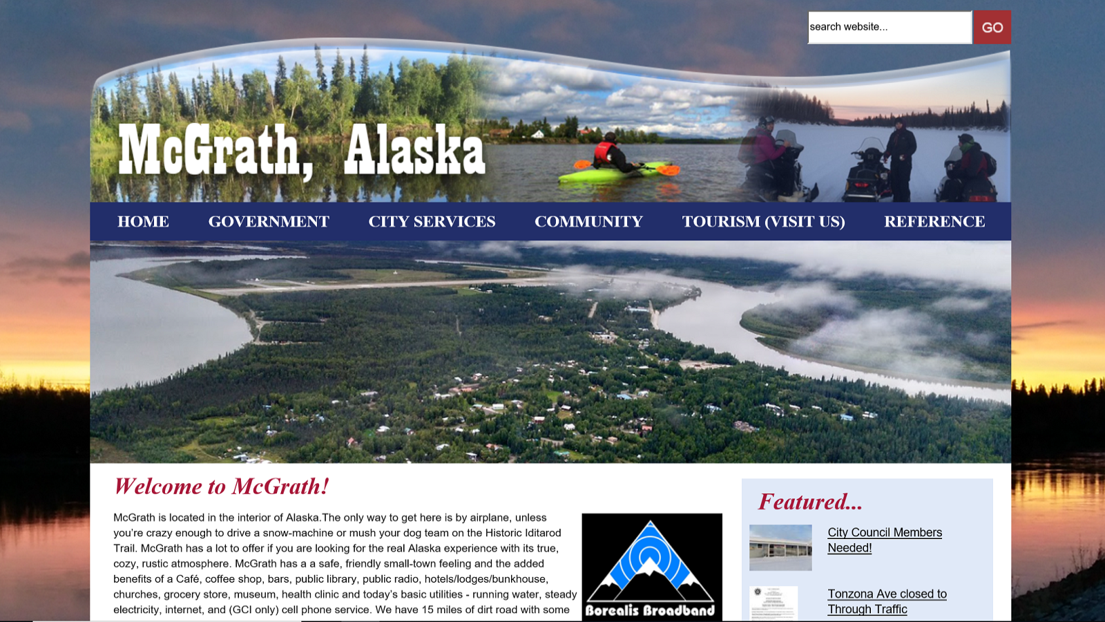 City of McGrath, AK